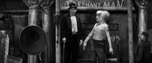 The Elephant man in circus